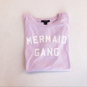 Forever 21 Mermaid Gang T-Shirt